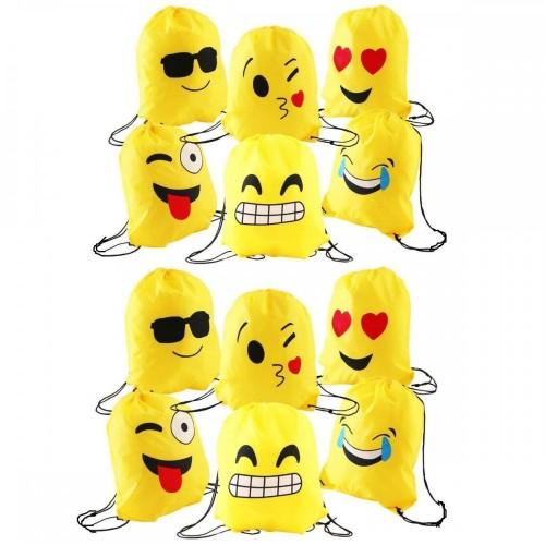 12 sacche emoticons - emoji