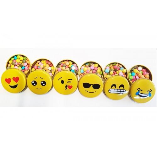 12 regalini fine festa emoticons - bomboniere