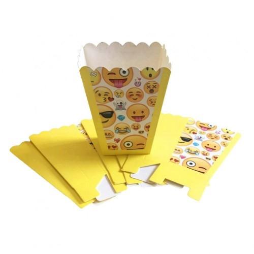 12 Porta pop corn emoticons - emoji