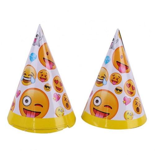 Cappellini cono tema emoticons - emoji