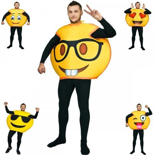 Costume travestimento emoticon emoji