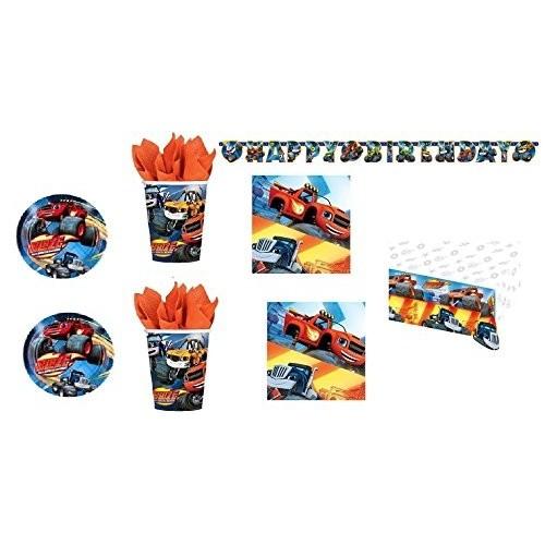 Kit per 40 persone di Blaze per feste di compleanno