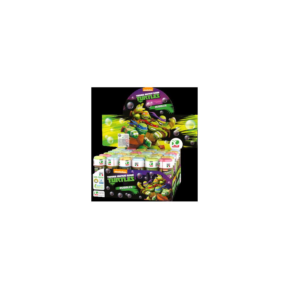 Bolle di sapone Tartarughe Ninja - 18 pz da 60 ml