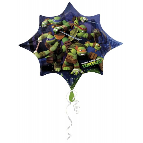Supershape stella Ninja Turtles, 88 cm, per allestimenti