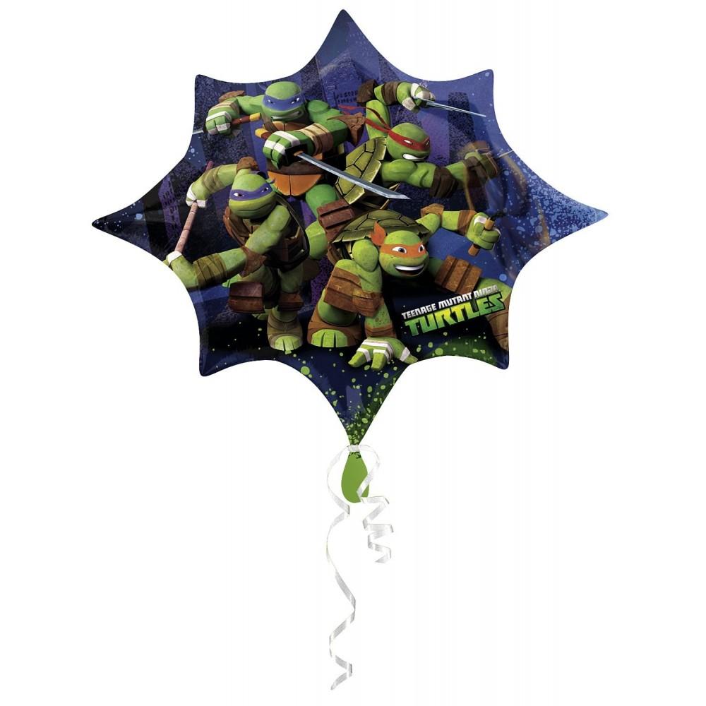 Supershape stella Ninja Turtles, 88 cm, per allestimenti
