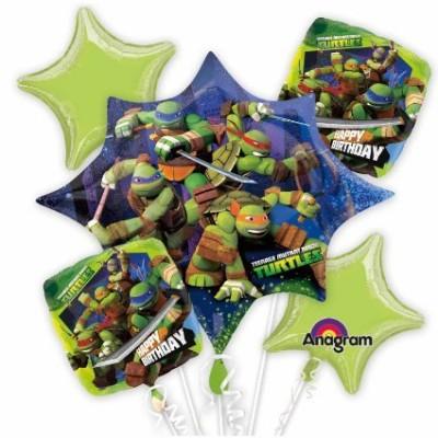Bouquet Tartarughe Ninja, palloncini per feste