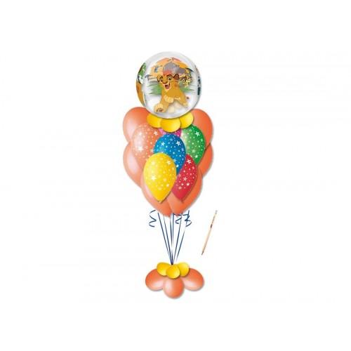 Composizione di palloncini Il Re Leone