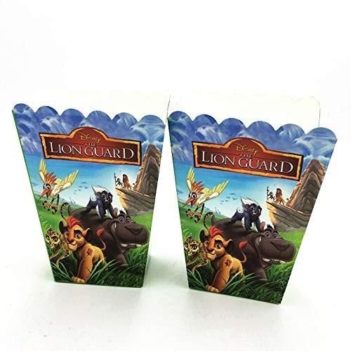 6 scatole Popcorn Il Re Leone - The Lion Guard