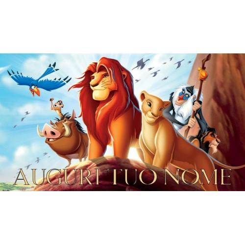 Cialda Il Re Leone rettangolare