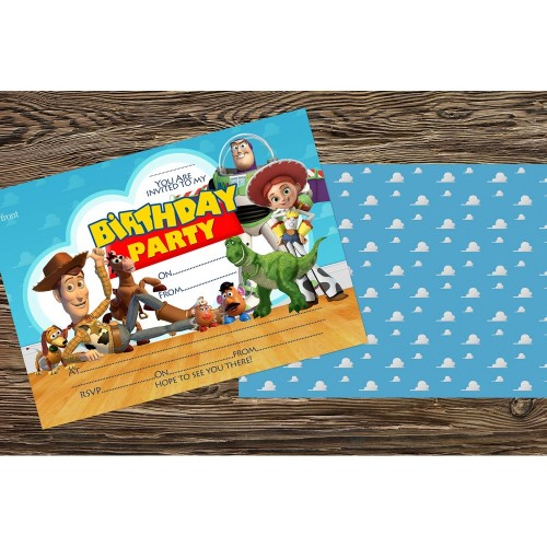 10 Inviti compleanno Toy Story