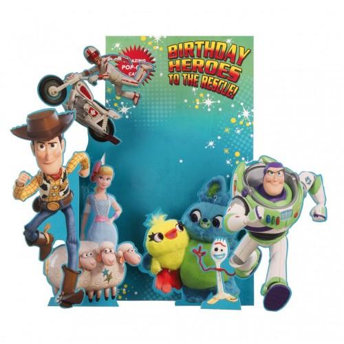 Biglietto auguri di compleanno Toy Story 4