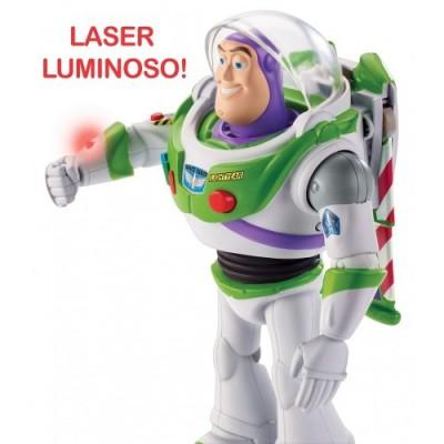 Toy Story- 4 Disney Pixar Buzz Lightyear Missione Speciale da 18 cm, Tecnologico, Personaggio Parlante, Ali Che Si Aprono, Gi
