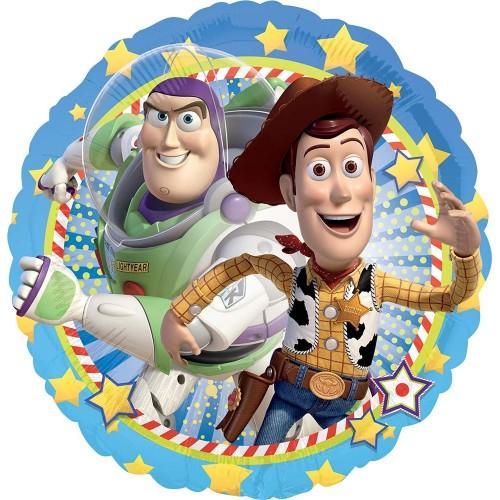 Palloncini foil Toy Story con Woody e Buzz