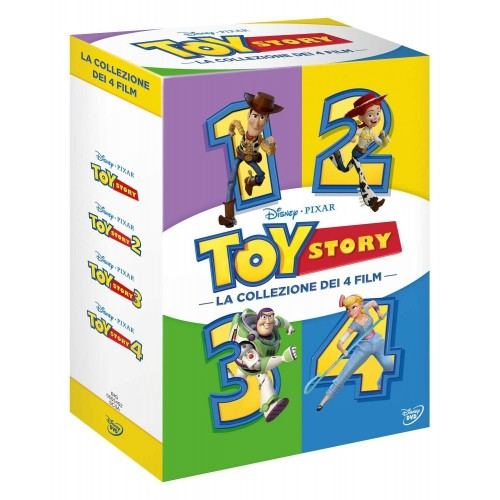 DVD Toy Story Collection  4 film Disney