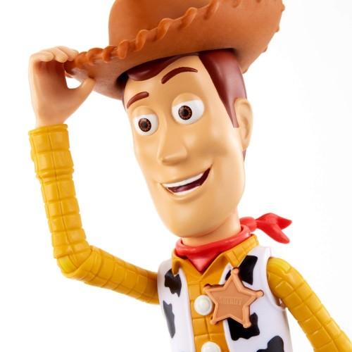 Toy Story- 4 Disney Pixar Woody Personaggio Parlante Articolato, da 18 cm, Giocattolo per Bambini di 3+ Anni, GFR22