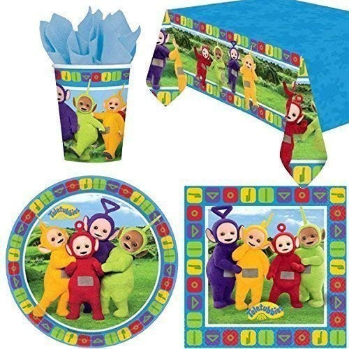 Kit per 8 persone compleanno Teletubbies