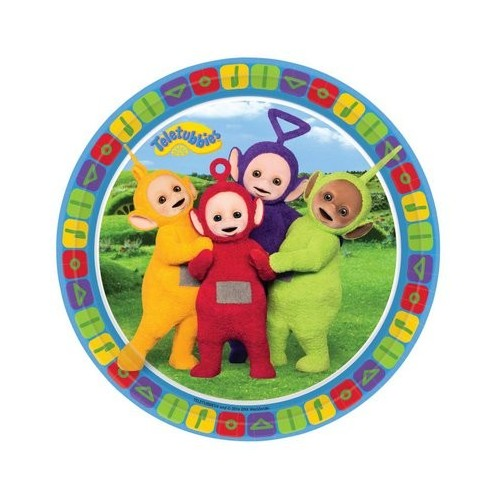 IRPot - KIT N 13 TELETUBBIES COORDINATO COMPLEANNO BAMBINI