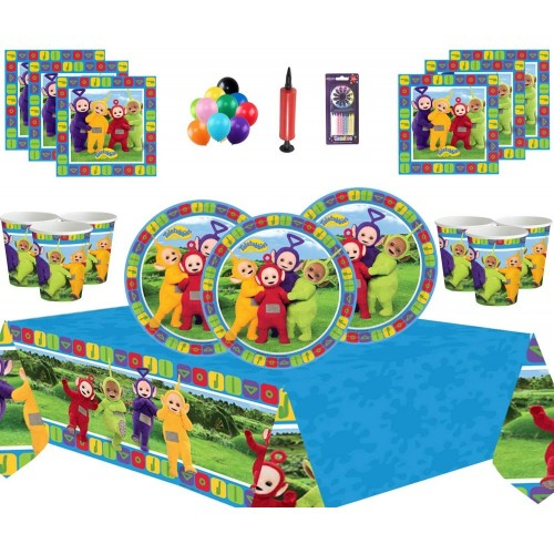Kit per 16 persone Teletubbies