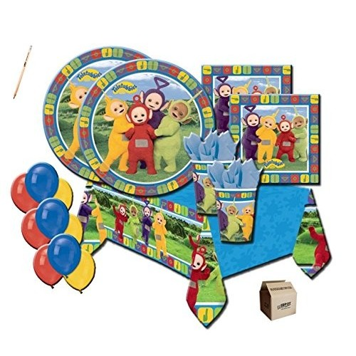 Kit per 64 persone tema Teletubbies