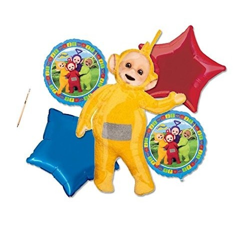 Composizione di palloncini Teletubbies