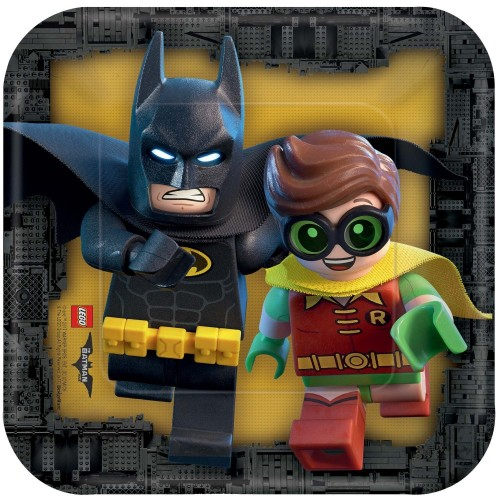 Piatti dessert LEGO Batman Movie