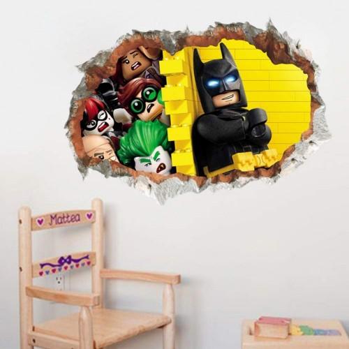Decorazione murale 3D Lego Batman Movie