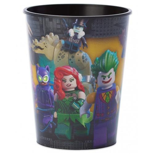 Bicchiere in pvc Batman Lego DC Comics