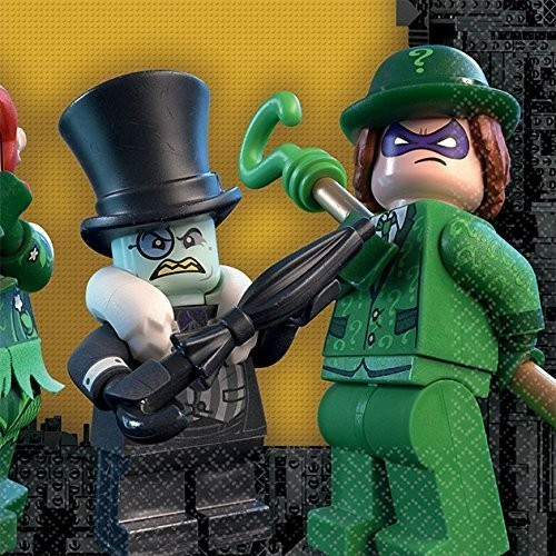 Tovaglioli DC Comics Batman Lego
