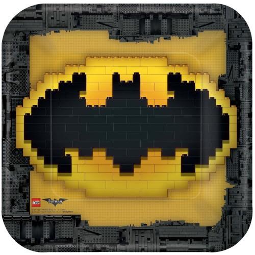 Piatti quadrati DC Comics Batman LEGO