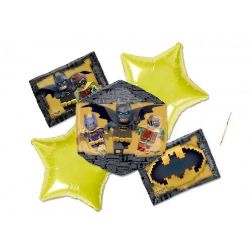 Composizione di palloncini Lego Batman