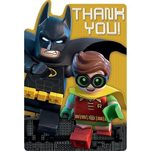 Cartello di ringraziamento Lego Batman