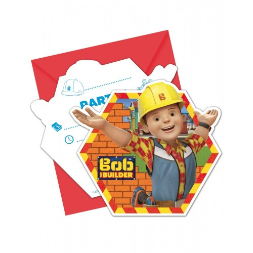 Inviti compleanno Bob Aggiustatutto