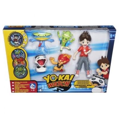 Yokai-Pack di 5statuette Nate e los Yo-Kai + medaglia pacchetto di erizlor Senza medaglia di Erizlor