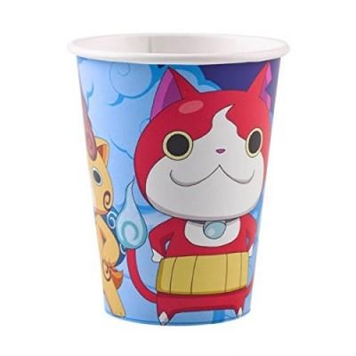 Irpot Kit Compleanno N.21 Yo-Kai Watch + TOVAGLIA E Palloncini Blu