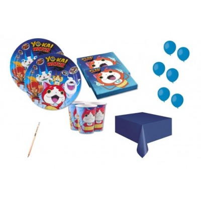 Kit per 8 persone tema Yo-Kai Watch
