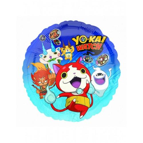 Palloncini Foil tondo Yo-Kai Watch