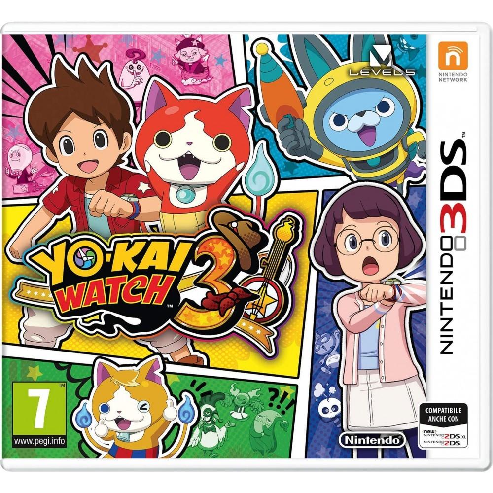 Videogioco Yo-Kai Watch 3 - Nintendo 3Ds