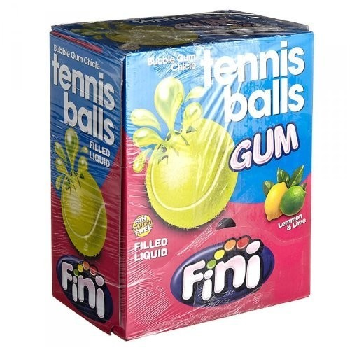 Caramelle gommose palline da tennis