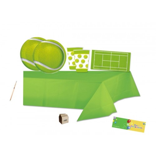 Kit per 40 persone tema tennis