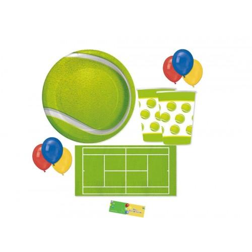 Kit per 8 persone tema Tennis