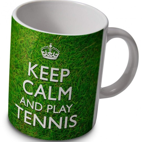 "Tazza ""Keep Calm And Play Tennis"""