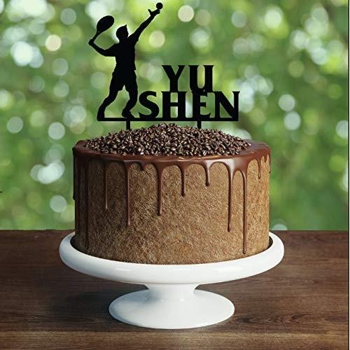 Topper per torta tema Tennis