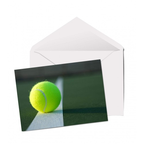 Biglietto di auguri Tennis
