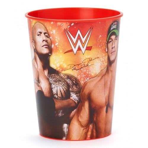 Bicchiere di plastica WrestlingWWE