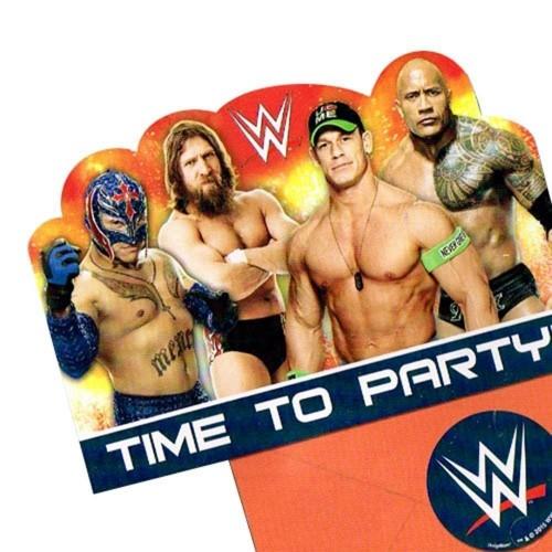 24 Inviti compleanno Wrestling WWE