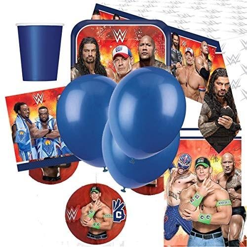 Kit per 8 persone tema Wrestling WWE