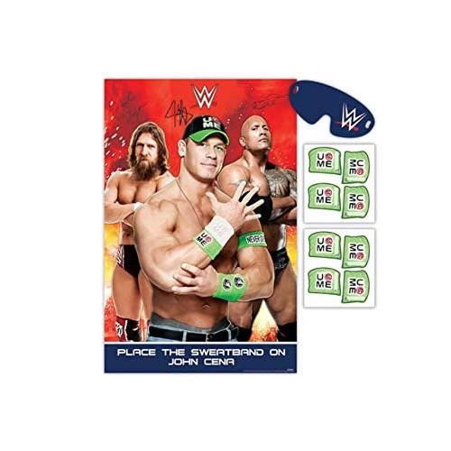 Gioco con adesivi tema Wrestling WWE