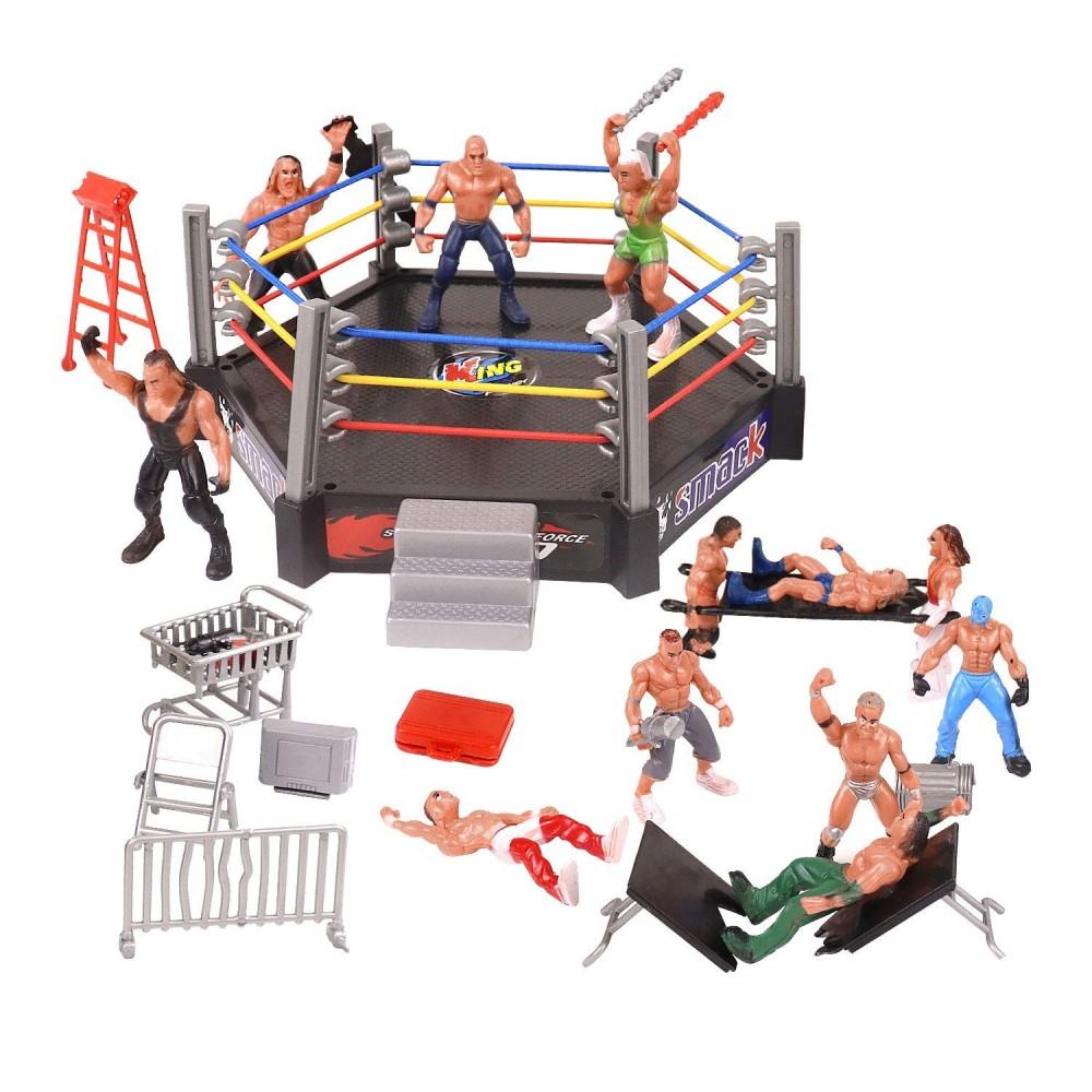 12 modellini Wrestling WWE