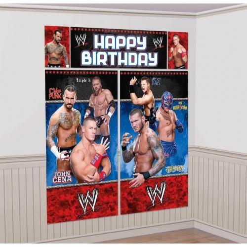 Poster adesivo gigante WWE