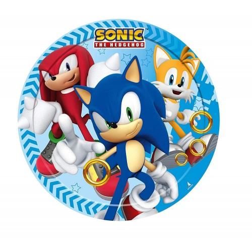 Piatti Dessert Sonic - The Hedgehog